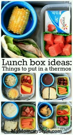 Lunch box ideas for kids / teens for school / road trips. G;)