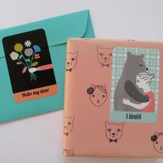 Stickers by Audrey Jeanne #gift #wrapping #presents
