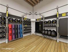 #gymrax #storage #gymdesign #suspension