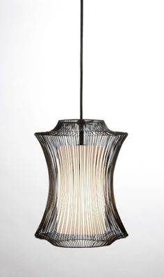 Taj Pendant (Available in White with White Glass Shade)