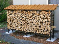 「プラネットカラー、薪小屋、木製物置格安販売のReborn」で取り扱う商品「【屋根なしパイプラック用】 2.7mオリジナル屋根」の紹介・購入ページ