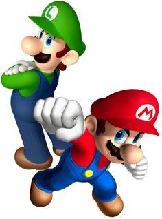 Mario and Luigi by Legend-tony980.deviantart.com on @DeviantArt