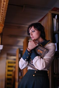 Gorgeous Elizabeth Cosplay From BioShock Infinite [Cosplay]