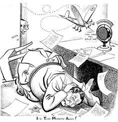 Caricature de Leslie Illingworth paru dans le Daily Mail le 1er février 1943