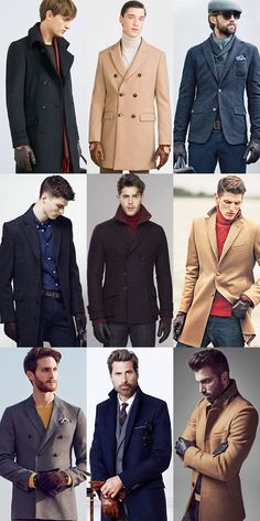 Men's Winter Outfit that Stay Warm and Look Cool: Leather Gloves Outfit Inspiration Lookbook