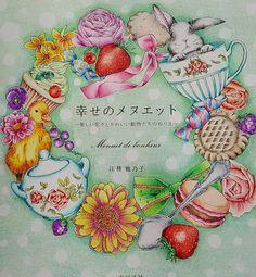 Menuet De Bonheur Coloring Book