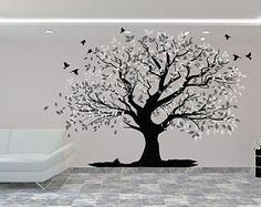 Special Tree Wall Decal - Custom Tree Wall Sticker - Beautiful Tree Wall Decal - Vinyl Sticker - Home Decor