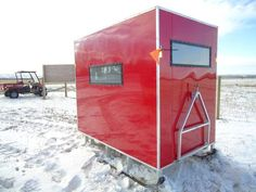 maine ice fishing shelter sno pro - Google Search
