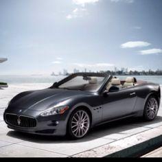 my fave car ;-) masarati gran cabrio