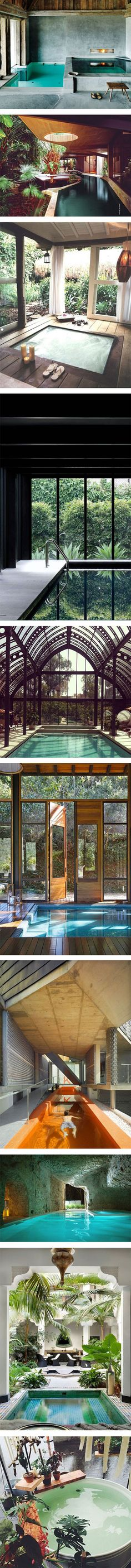 10 amazing indoor pools you'd love to have at home