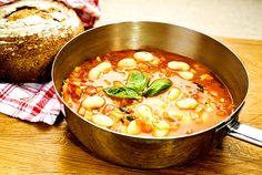 Toskansk soppa på smörbönor | Recept.nu
