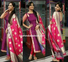 Anasuya in Ashwini Reddy Salwar Suit photo