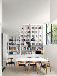 Salle à manger / Bibliothèque