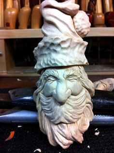 Mike Pounders Wood Carving