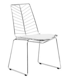 Wendover Dining Chair - Chrome - Zuo Modern - $238.00 - domino.com DINING ROOM