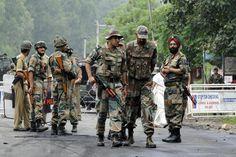Indian armymen.