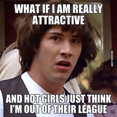 Attractive guy problem!!! #positive