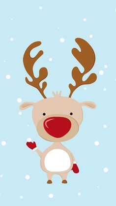 Rudolph ~ wallpaper/lock screen/background