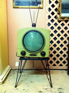 1950's vintage television.