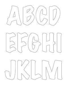15827d95dde0d3d84785a7448d6bd03a--alphabet-stencils-diy-tumblr  Letter Monogram Print Out Template on