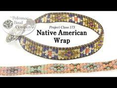 Native American Style Wrap Bracelet - YouTube