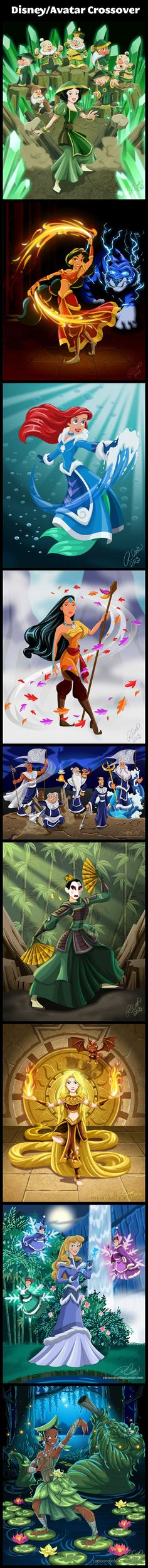 Disney/Avatar Princess