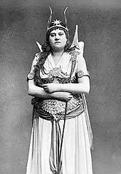 Barnett as The Fairy Queen - Alice Barnett (17 May 1846 – 14 April 1901) was an English singer and actress, best known for her performances in contralto roles of the Gilbert and Sullivan operas with the D'Oyly Carte Opera Company.