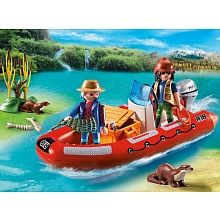 Playmobil - Boat with Explorers