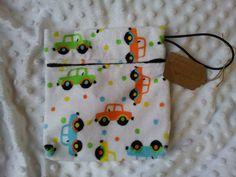 Beep Beep Car Small Waterproof Bag wetbag by LittleBabybugsLtd, £8.50
