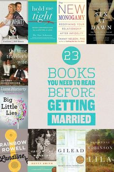 23 Books You Need To Read Before You Get Married
