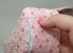 Необычная  косметичка с фермуаром. Cosmetic bag with clasp. DIY tutorial