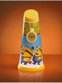 Official Despicable Me Minions 2 in 1 Torch and Night Light. Free UK Delivery...