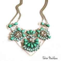 Fashion Statement Necklace Fashion Statement Necklace                                                                                                                                                                                         Material: Tin alloy, anti allergic, lead and nickel compliant This ring is sure to be a special gift to be enjoyed! Packaged in a lovely Bag!   BRAND NEW WITH TAG SAME DAY OR NEXT DAY SHIPPING  BUNDLE TO SAVE Jewelry Necklaces