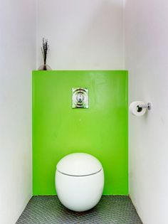 Egg Shape Toilet | Round Toilet | Contemporary Design | Green Wall | Functional Design | Bathroom Toilet | Plumbing