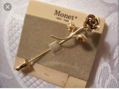 """stick pins I thought Monet was the """"fancy"""" brand. I still have some Christmas stick pins. I'll wear them--no fear. My Childhood Memories, Childhood Toys, Sweet Memories, I Remember When, Oldies But Goodies, Stick Pins, Thats The Way, Ol Days, My Memory"""