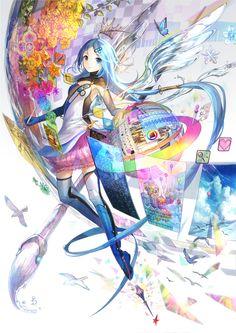Artwork by fuzichoko http://www.pixiv.net/member_illust.php?mode=medium&illust_id=44525445