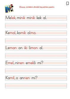 M Sesi Cümleler Learn Turkish, Turkish Language, Primary School, Preschool, Education, Learning, Words, Grad Parties, Gifts For Birthday