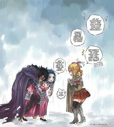 Image about anime in Fairy Tail by on We Heart It Gale Fairy Tail, Fairy Tail Funny, Fairy Tail Nalu, Fairy Tail Ships, Fairy Tales, Gajevy, Gruvia, Fairytail, Gajeel Et Levy