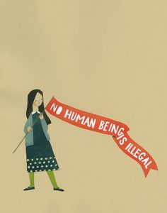 """No human being is i"