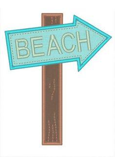 All Designs :: Beach Sign