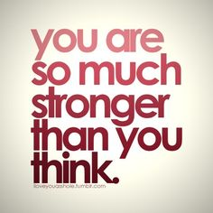 You always are!
