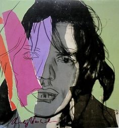 "Andy Warhol ""Mick Jagger"" from 1982"