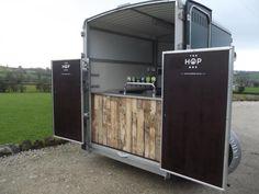 horse trailer bar...greatest idea ever!  A Brew Pub on Wheels: Craft on Draft : Remodelista-