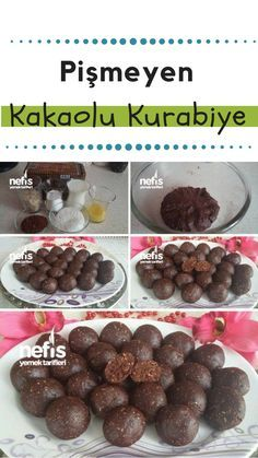 Pişmeyen Kakaolu Kurabiye Tarifi – Nefis Yemek Tarifleri How to make Uncooked Cocoa Cookies Recipe? Here is a picture description of this recipe in the book of people and photographs of the experimenters. Yummy Recipes, Lunch Recipes, Great Recipes, Cookie Recipes, Dessert Recipes, Simple Recipes, Chocolate Desserts, Oreo Desserts, Dessert Illustration