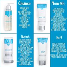 When the weather gets cold and dry don't forget about nourishing your skin with our affordable Indulgence Kit! You'll receive all 4 products of Cleanse, Buff, Nourish and Quench for super soft hands and feet! amyjams83.jamberry.com