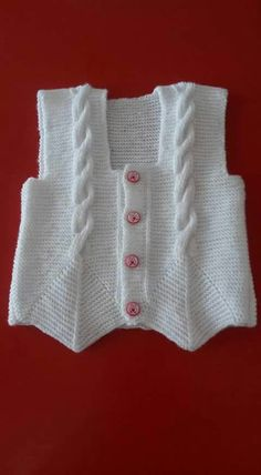 "[ ""cabled vest with lovely detail"" ] # # # # # # # # # # Baby Cardigan, Baby Pullover, Knit Vest, Cardigan Pattern, Baby Knitting Patterns, Easy Crochet Patterns, Knitting Designs, Knitting Projects, Crochet For Kids"