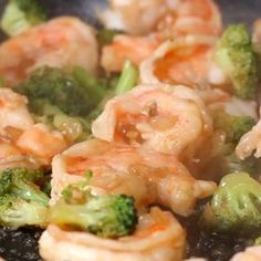 Garlic Broccoli Shrimp Stir Fry Recipe by Tasty