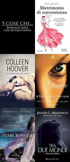 5 Cose che... # 8  Seguici su: https://cantidellebalene.wordpress.com/2017/08/25/5-cose-che-8/ #5coseche #romanzirosa #romance #romanticismo #books #libri #letture #consigliati #matrimoniodiconvenienza #feliciakingsley #leconfessionidelcuore #colleenhoover #lospite #stephaniemeyer #starcrossed #awakening #josephineangelini #traduemondi #covenant #jenniferlarmentrout #paranormalromance #urbanfantasy #fantasy #cantidellebalene