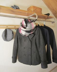 Tee-se-itse-naisen sisustusblogi: Infinity Scarf Made Out Of Wool Fabric