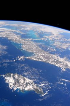 Image result for space station satellite pictures of the earth cuba